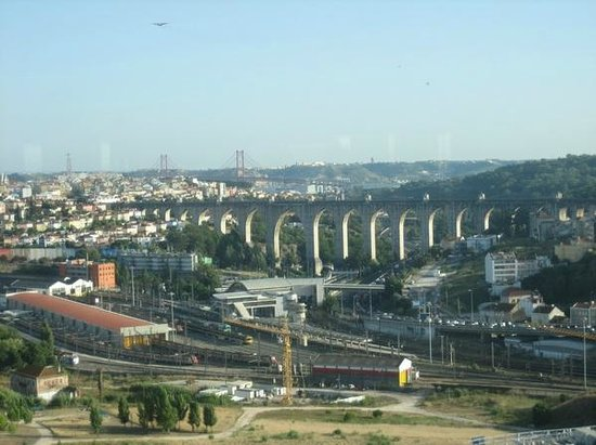 Corinthia Hotel Lisbon: View from Executive club lounge