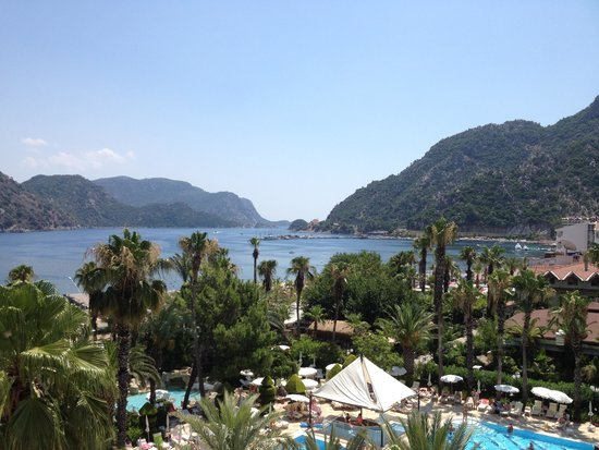 Hotel Aqua: View from room