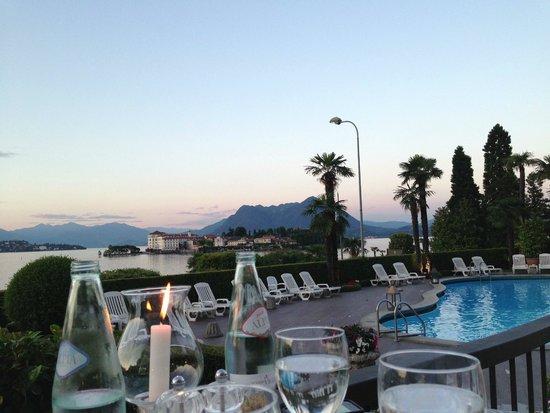 Hotel Villa & Palazzo Aminta: dalla terrazza ristorante