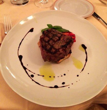 Taverna Del Bronzino: Filetto alla griglia