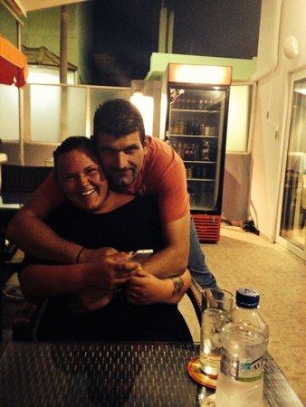Ialyssos City Hotel : The boss and Line