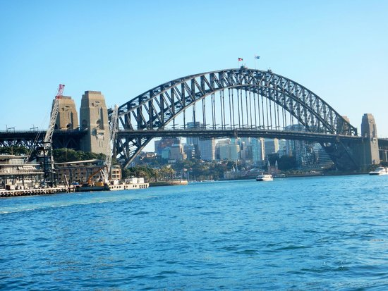 Sydney Harbour Bridge: View from the Opera House
