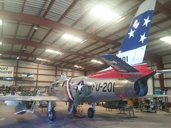 Valiant Air Command Warbird Museum : i loved this place