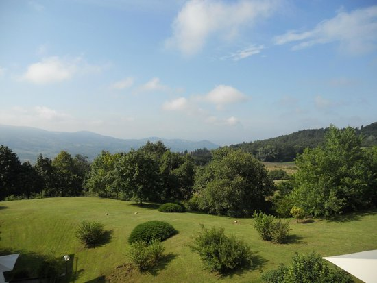 Demidoff Country Resort: Panorama dal balcone