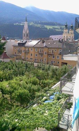 Goldene Krone Vital Hotel: dal balcone camera Superior