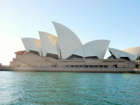 Sydney Opera House: One view of the Opera House