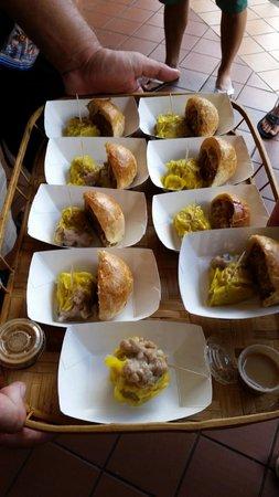 Hawaii Food Tours: More samples.
