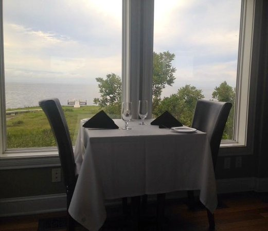 The Inn on Pamlico Sound: View from the dining room