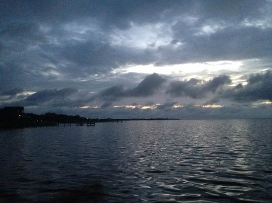The Inn on Pamlico Sound: View off of the dock, toward the sound