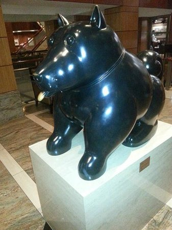 Kitano New York : Lucky Dog in Main Lobby