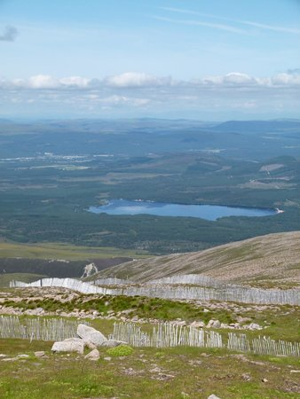 Cairngorms National Park: at the top