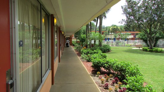Red Lion Hotel Orlando - Kissimmee Maingate : outside door