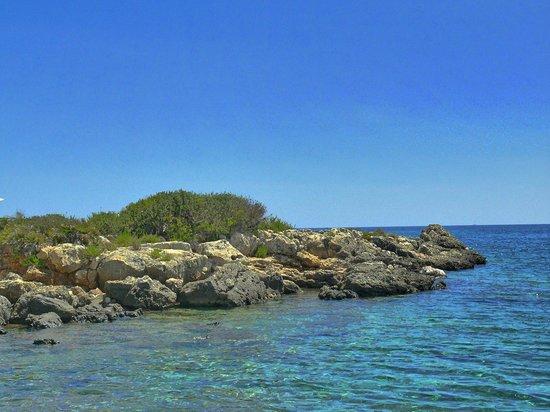 VOI Arenella resort: paesaggio