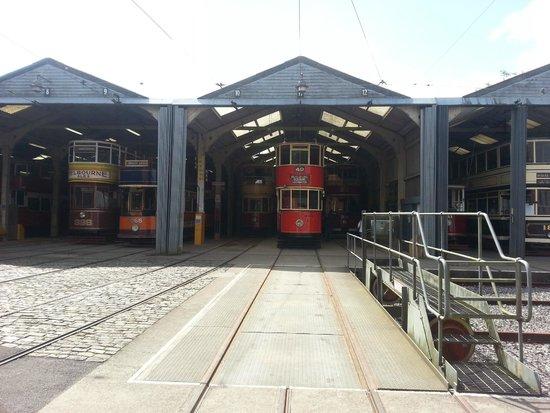 Crich Tramway Village: Tramsheds