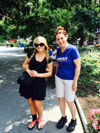 Real New York Tours: Mindy and I