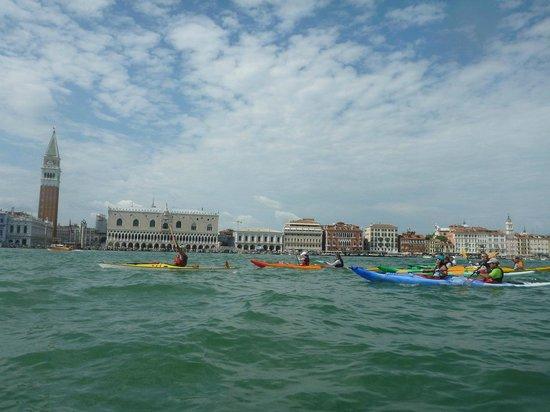 Venice Kayak : paleando en Venecia