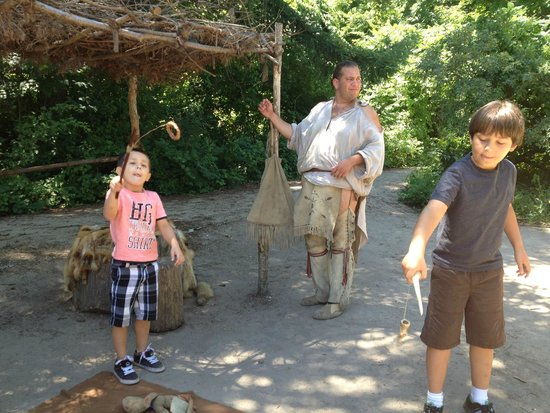 Plimoth Plantation: Toys from the American natives