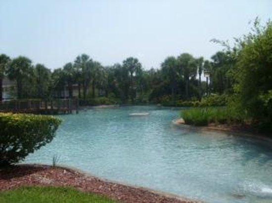 Wyndham Orlando Resort International Drive: fountain no longer
