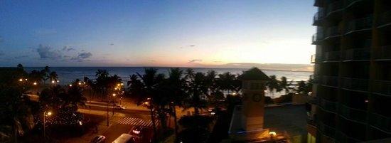 Park Shore Waikiki: Sunset over Waikiki