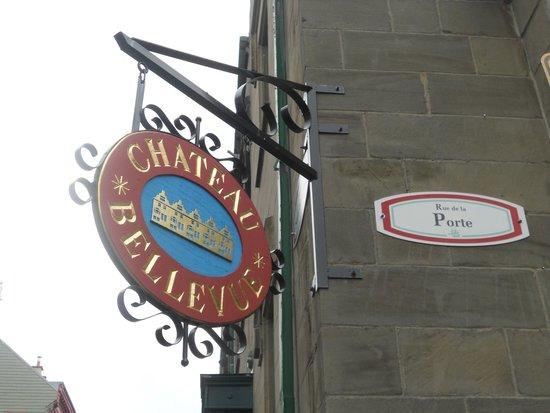 Hôtel Château Bellevue : Perfect location!