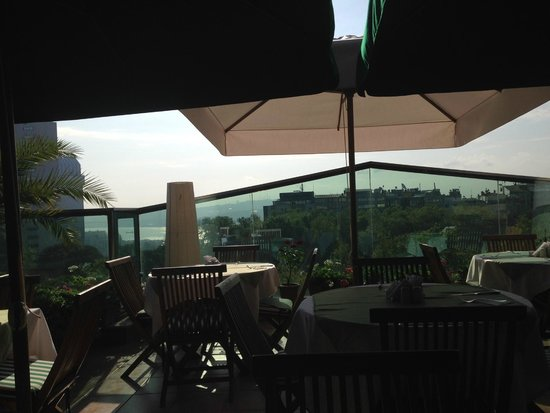Germir Palas Hotel Istanbul : roof top view