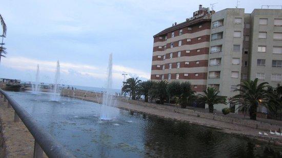 Hotel Kursaal: Al lado del hotel