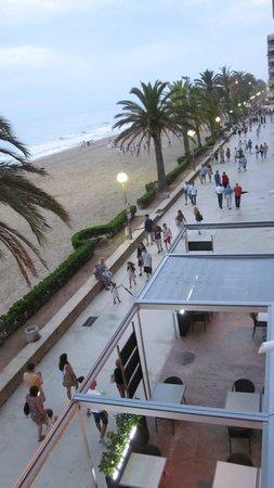 Hotel Kursaal: Vistas desde la terraza