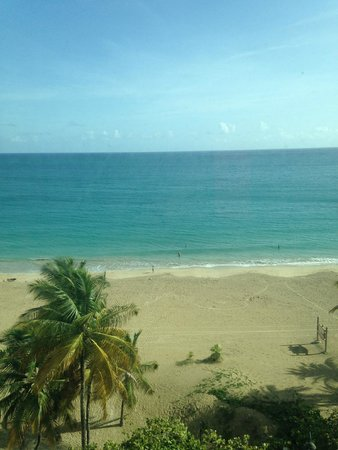 San Juan Water & Beach Club Hotel: View from 8th floor corner room