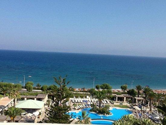 Sheraton Rhodes Resort: vue chambre 405