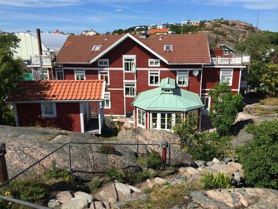 Strandflickornas Havshotell: En del av utemiljön