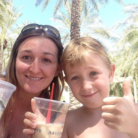 Arizona Grand Resort & Spa: Jackie and Owen