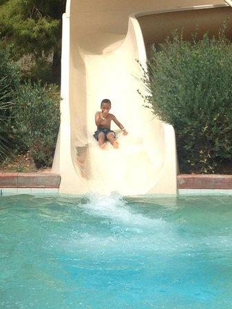 Arizona Grand Resort & Spa : Gabriel on the water slide