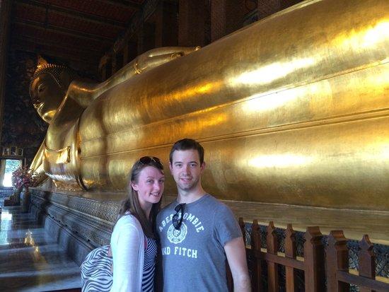 Rembrandt Hotel Bangkok: the reclining buddha