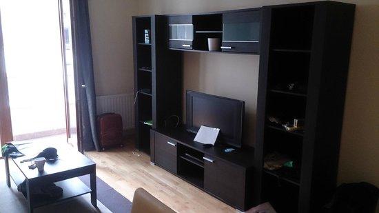 Senator Apartments Budapest: salon équipé