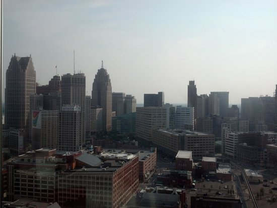 Greektown Casino Hotel: Downtown D from the room