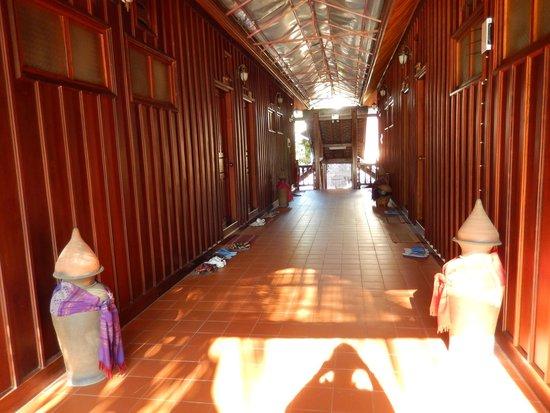 Villa Chitdara : Couloir