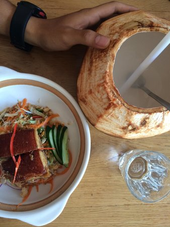 Sisterfields : Pork belly on a glass noodle