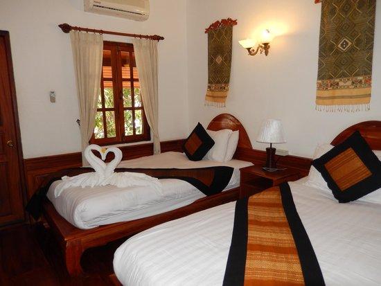 Villa Chitdara : Chambre