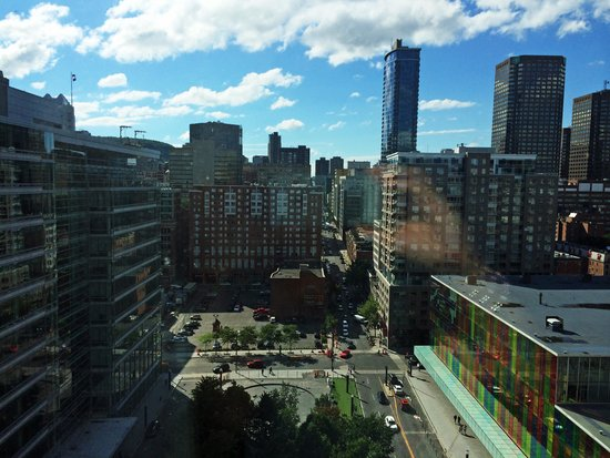 InterContinental Montreal : The view from my room