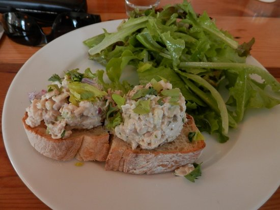 Rockport, ME: chicken salad