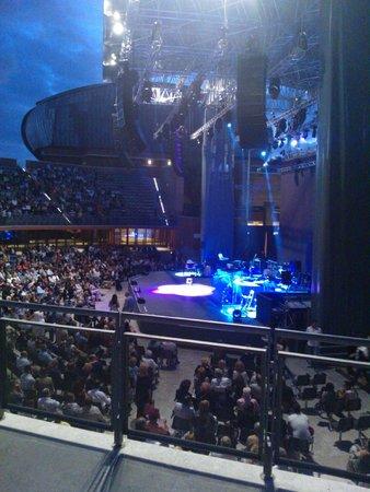 Auditorium - Parco della Musica: la sera sulla cavea