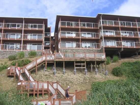 Hallmark Resort Spa Cannon Beach View Of From