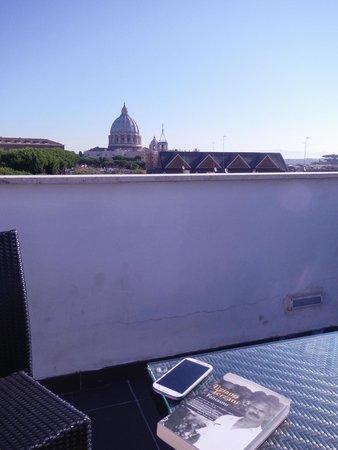 Il Cantico: roof garden