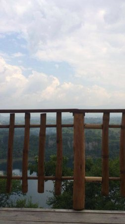 Kyaninga Lodge : View from the room
