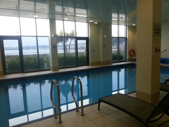 Radisson Blu Waterfront Hotel, Jersey: The Swimming Pool