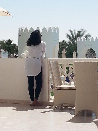 Liwa Hotel : balcon