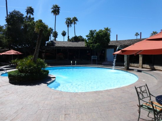 Hotel Lucerna Mexicali : Pool Area
