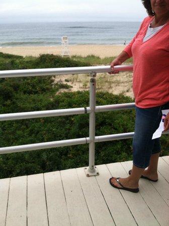 Royal Atlantic Beach Resorts: broken banister