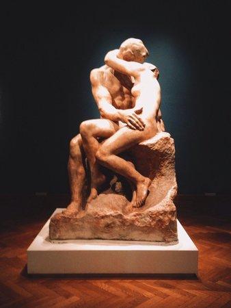 Musée national des beaux-arts : El Beso - Rodin