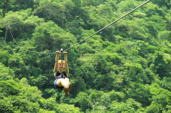 Canopy River : Amazing zip line adventure